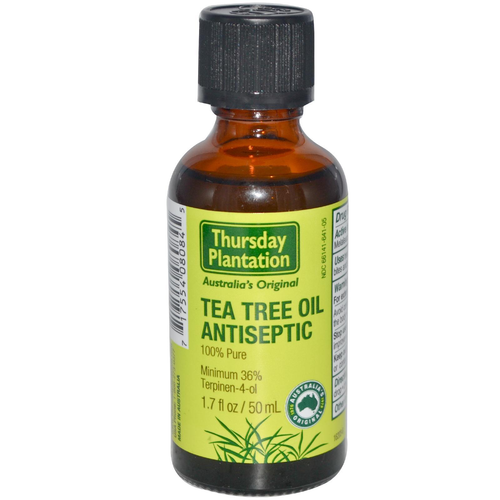 Is tea tree oil an antiseptic