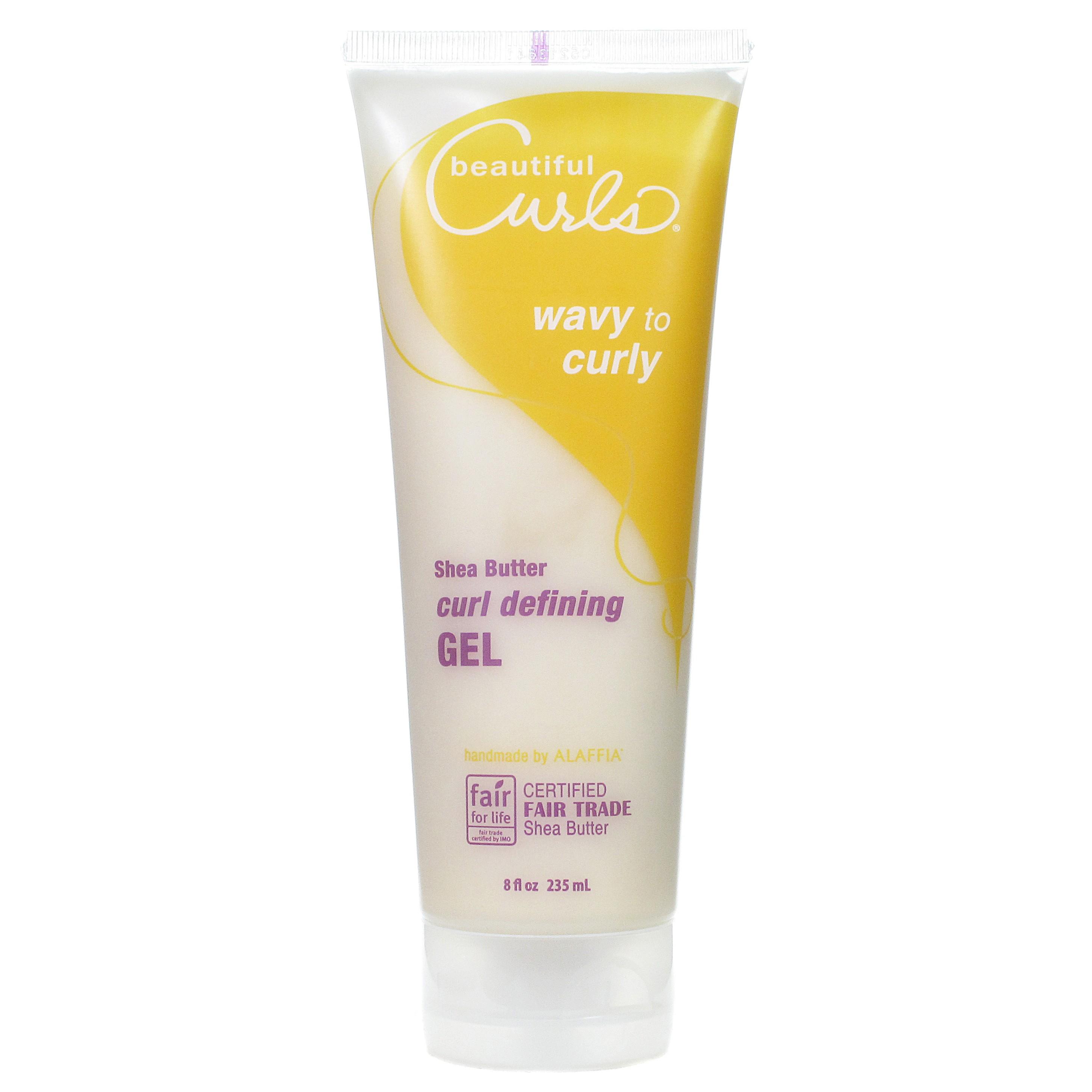 Review Beautiful Curls by Alaffia Shea Butter Curl Defining Gel ...