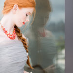 photo by Melissa Kruse, model Julia Rock of Major Models