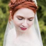 phoot by Melissa Kruse, model Valerie Hornbach for Storyboard Wedding