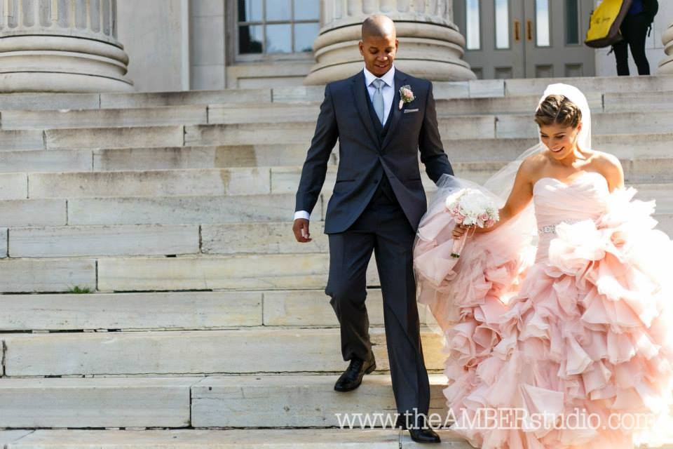 Brooklyn bride's hair by Eden Di Bianco
