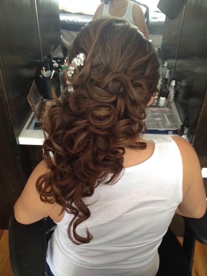 romantic hair by Eden Di Bianco
